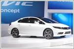 Honda presents the Civic Si Coupe and Sedan concepts at Detroit