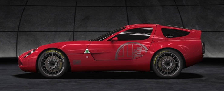 Alfa Romeo TZ Zagato To Go Into Limited Production - Alfa romeo tz3 corsa
