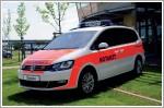 Volkswagen Sharan and Passat Variant emergency vehicles at RETTmobil 2011
