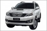 Toyota Fortuner facelifted