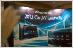 Pioneer launches new range of in-car entertainment systems