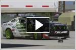 Drift Champion Vaughn Gittin Jr drifts with HPI RC Car