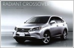 Photos of facelifted Lexus RX leaked