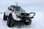 Toyota sets off to conquer the poles with Hilux