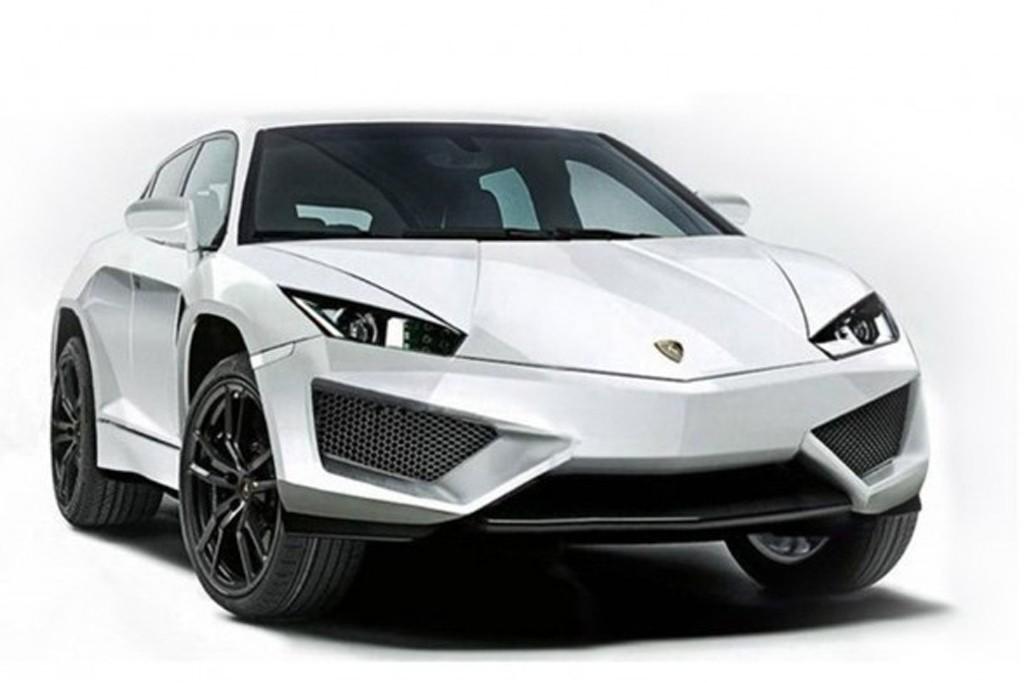 Lamborghini Press Invitation Shows Sketched Outline Of Suv Photo