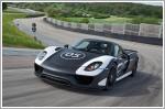 Porsche unveils first 918 Spyder protoypes & announces specifications