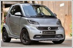 German tuners Brabus and Smart city car are celebrating their 10th Anniversary