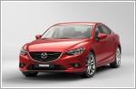 Mazda's flagship model showcased at Moscow International Auto Salooon