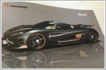 Koenigsegg One:1 living up to its name of 1bhp per kg