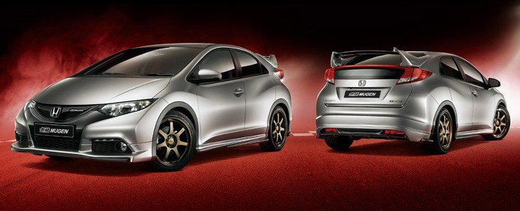 Poważnie Mugen has introduced tuning programmes for Civic and CR-V GD76