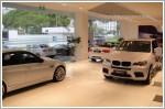 Taciturn car showrooms on Good Friday