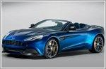 Aston Martin unveils soft-top variant to Vanquish