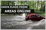 Check flood prone areas online before heading out