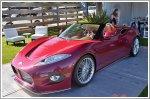 Spyker B6 Venator Spyder Concept unveiled in Pebble Beach