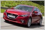 First six legs of Hiroshima to Frankfurt challenger tour by Mazda3s completed