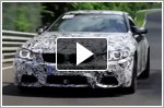 BMW M4 Coupe and M3 Sedan undergo testing at Nurburgring by DTM drivers