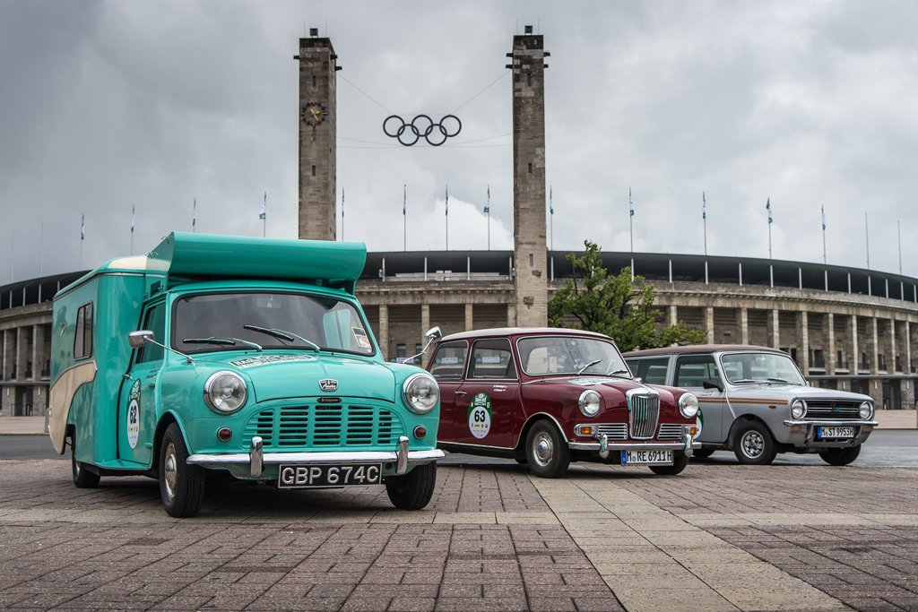 Bmw Sends Three Classic Minis On A Road Trip In Germany