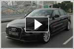 Audi demonstrates safe driving tips - with Ex F1 driver - Alex Yoong
