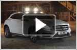 Mercedes GLA-Class makes U.K. debut off road, way off road