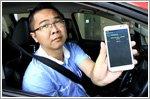 Taxi drivers using M1 can pay GrabTaxi fees via handphone bill