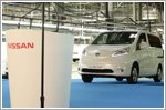 Nissan's second 100 percent electric vehicle starts global production in Spain