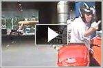 Road rage incident at Temasek Boulevard