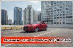 Japanese cars fall below $100k mark