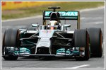 Hamilton beats Rosberg after thrilling finale at the Spain Grand Prix