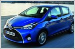 Toyota introduces improved Yaris with an aggressive face