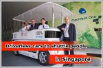 Driverless cars could soon be used to shuttle people in enclosed areas