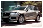 The all new XC90 boasts a futuristic design and specifications