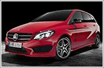 Mercedes-Benz B-Class undergoes facelift
