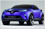 Toyota's C-HR crossover concept to debut at Paris Motor Show