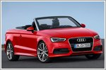 The new Audi A3 Cabriolet debuts in Singapore to complete the A3 family