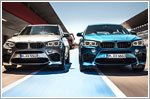 Powerful presence with the new X5 M and the new X6 M