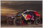 Peugeot 2008 DKR trades all carbon look for race ready livery