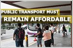 Transport Minister urges public transport to remain affordable