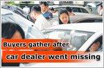 Buyers claim car dealer cheated them of deposits
