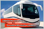 Feeder service contracts awarded to private bus operators