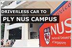 Singapore driverless car to ply NUS campus