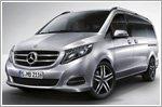 The new V-Class - The Mercedes among MPVs