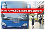 Residents in three areas get new private bus service to CBD