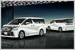 Toyota updates the Alphard and Vellfire minivans