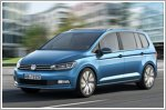 Volkswagen unveils its new Touran compact MPV in Geneva