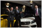 Mercedes-Benz bags three prizes at World Car Awards 2015