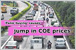 COE prices rise across the board due to 'panic buying'