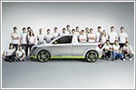 23 Skoda trainees build funky pickup based on the Fabia