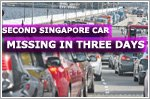 Singapore car reported missing in Johor Bahru