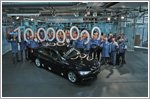 The ten millionth BMW 3 Series Sedan has rolled off the production line