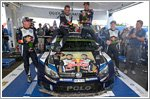 Three FIA World Rally Championship titles go to Volkswagen